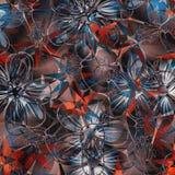 заколдовыванные цветки Стоковые Фотографии RF