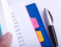 Законная пачка обработки документов Стоковое фото RF