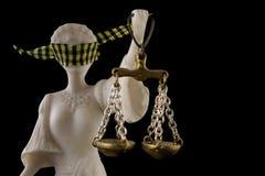 законные права правосудия Стоковое Изображение
