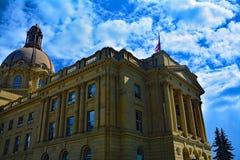 Законодательая власть Альберты в Эдмонтоне Стоковые Фотографии RF