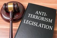 законодательство Анти--терроризма и концепция безопасностью стоковая фотография