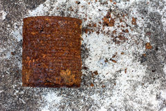 Законсервированная ржавчина Стоковое Фото