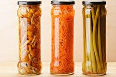 Законсервированные овощи Стоковое Изображение RF