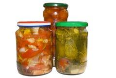 законсервированные овощи стоковая фотография rf