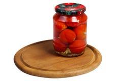 Законсервированные томаты Стоковые Фотографии RF