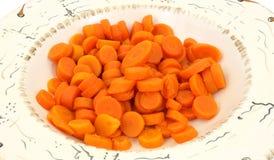 законсервированный взгляд со стороны морковей Стоковое Изображение RF