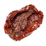 Законсервированный Sundried или высушенный томат на белой предпосылке Стоковое Изображение RF