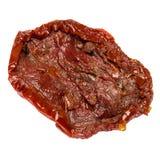 Законсервированный Sundried или высушенный томат на белой предпосылке Стоковые Фотографии RF