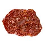 Законсервированный Sundried или высушенный томат на белой предпосылке Стоковые Изображения