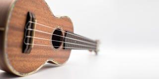 Законченная сатинировка гавайской гитары Стоковые Фото