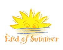 закончитесь лето Стоковые Фотографии RF