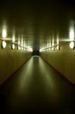 закончите тоннель Стоковые Изображения