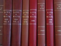 Законы Мальты стоковые фото