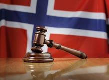 Законы Норвегии стоковые фото