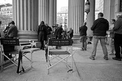 Закон & заказ, актерский и технический состав NYC SVU Стоковая Фотография RF