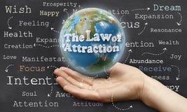 Закон привлекательности Стоковое Изображение