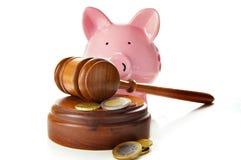 закон финансов Стоковые Фото