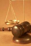 закон Стоковая Фотография