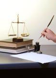 закон Стоковые Фото