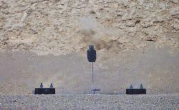 Закоптелая несоосность винтовки Стоковая Фотография RF