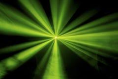 Закоптелый зеленый свет диско Стоковые Изображения