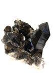 Закоптелый изолированный кварц Стоковое Изображение RF