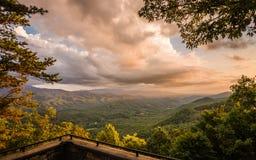 Закоптелый национальный парк горы Стоковое фото RF