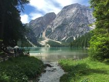 заколдованное озеро Стоковое Изображение