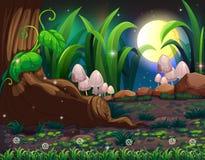 Заколдованный лес иллюстрация вектора