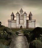 заколдованный замок бесплатная иллюстрация