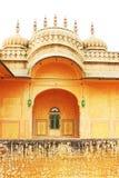 Заколдовывая форт Джайпур Раджастхан Индия Nahargarh стоковая фотография rf