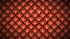Закрепленная петлей картина предпосылки в форме масштабов оранжевых сток-видео