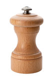 закрепляя изолированный перец путя стана деревянный Стоковые Фотографии RF