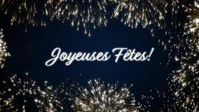 Закрепляя петлей оживленные фейерверки приправляют открытку social приветствиям ` s Концепция торжества праздника петли Множестве видеоматериал
