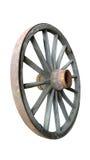 Закрепленное колесо телеги Стоковые Фото