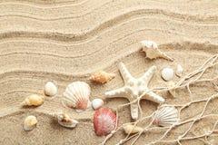 закрепляя изолированное море путя обстреливает белизну Стоковые Фотографии RF