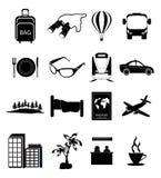 закрепляя цифровой пути икон включенные иллюстрацией царапают перемещение Стоковое Изображение RF