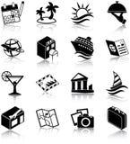 закрепляя цифровой пути икон включенные иллюстрацией царапают перемещение Стоковое Изображение