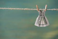 Закройте вверх 100 банкнот доллара США Стоковая Фотография
