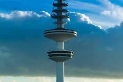 Закройте вверх башни ТВ в Гамбурге стоковые фотографии rf