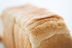 Закройте вверх белого хлеба здравицы Стоковые Фото
