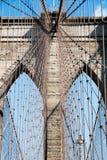 Закройте вверх Бруклинского моста Стоковое Фото