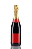 Закройте вверх бутылки шампанского. Стоковое Изображение