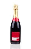 Закройте вверх бутылки шампанского Стоковые Фото