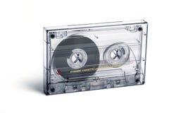 Закройте вверх винтажной кассеты ленты звукозаписи Стоковое Изображение RF