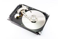 Закройте вверх внутри жесткого диска Стоковое Фото