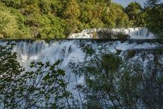 Закройте вверх водопада krka Стоковые Фото