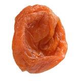 Закройте вверх высушенного изолированного абрикоса Стоковые Фотографии RF