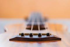 Закройте вверх гавайской гитары Стоковое фото RF