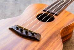 Закройте вверх гавайской гитары Стоковое Фото